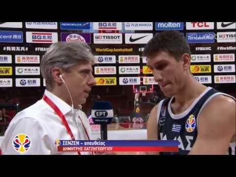 Μουντομπάσκετ: Ελλάδα – Τσεχία, νίκη χωρίς πρόκριση στους 8 | 09/09/2019 | ΕΡΤ