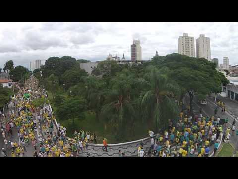 Manifestação pró Impeachment em Jacareí