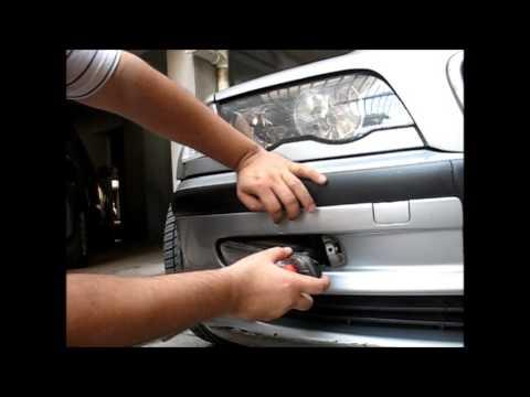 BMW E46 - Desmontagem do Farol de Milha