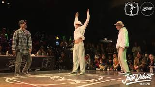 SO & Cgeo vs バフケロ (バファリン & KELO) – JUSTE DEBOUT TOKYO 2020 POPPING BEST4 (Another angle)