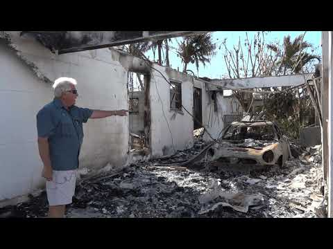 Key Colony Beach Building Inspector Ed Borysiewicz gives a tour after Hurricane Irma