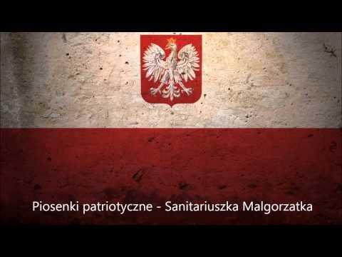 Tekst piosenki Patriotyczne - Sanitariuszka Malgorzatka po polsku