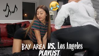 GET LIT WITH US | BAY AREA VS. LOS ANGELES MUSIC PLAYLIST