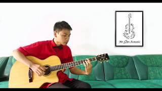 Video (Anji) Bidadari Tak Bersayap | Mr. Dev Acoustic Fingerstyle MP3, 3GP, MP4, WEBM, AVI, FLV Februari 2018