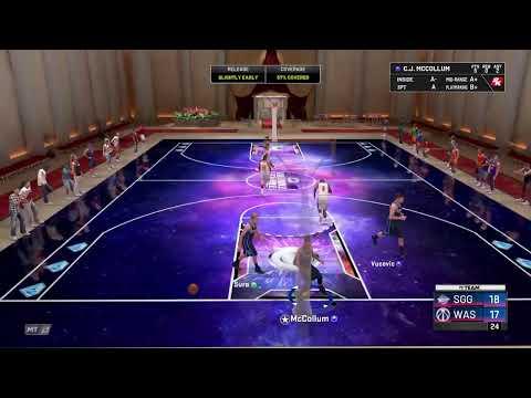 NBA2K20 MyTeam Triple threat offline Road to 200 subs