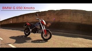 1. BMW G650 Xmoto test ride, thoughts and quick walk around