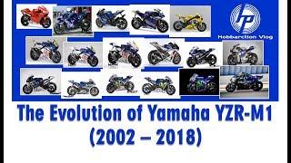 Video The Evolution of Yamaha YZR-M1 Motogp (2002 - 2018) MP3, 3GP, MP4, WEBM, AVI, FLV Januari 2018