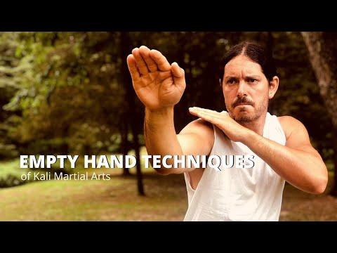 Empty Hands Techniques - Kali Eskrima Arnis