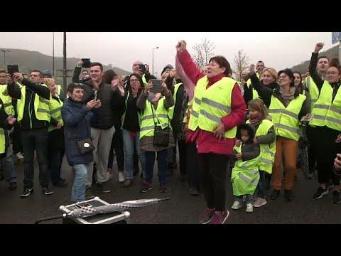 Λυών: Κινητοποίηση των «κίτρινων γιλέκων»
