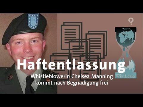 Whistleblowerin Manning vor Freilassung