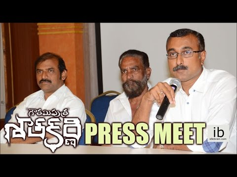 Gautamiputra Satakarni Producers Press Meet