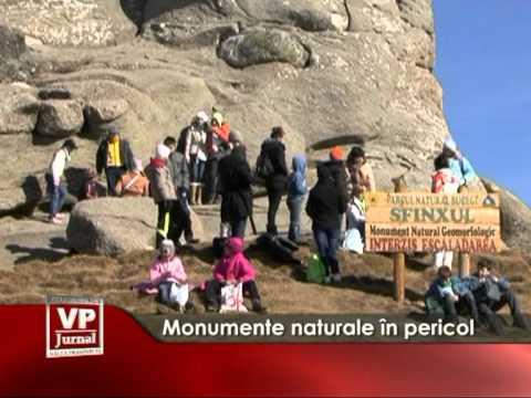Monumente naturale în pericol