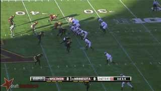 Jared Abbrederis vs Minnesota (2013)