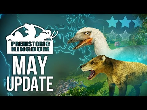 Prehistoric Mammals, Guests And Wet Dinosaurs! | Prehistoric Kingdom May Update
