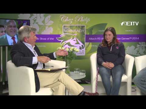 Watch Chez Philip WEG talk show with Team GBR's Natasha Baker [VIDEO]