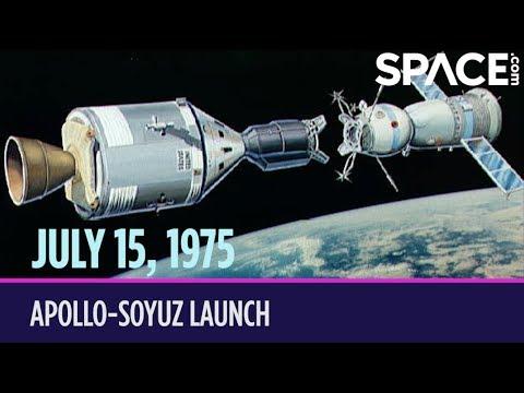 OTD in Space – July 15: Apollo-Soyuz Launch_Spacecraft videos