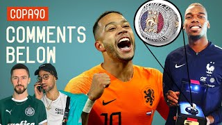 Video Pogba's NBA Ring, Are Holland 'Back' and What's Up With Scotland? | Comments Below MP3, 3GP, MP4, WEBM, AVI, FLV Maret 2019