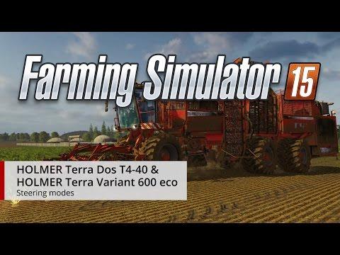 HOLMER DLC Steering Modes