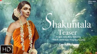 Video Shakuntala movie trailer | Deepika Padukone | Vidyut Jamwal | MP3, 3GP, MP4, WEBM, AVI, FLV September 2018