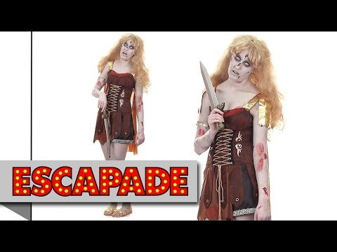 Zombie Gladiator Halloween Costume - Halloween Fancy Dress Costume Ideas