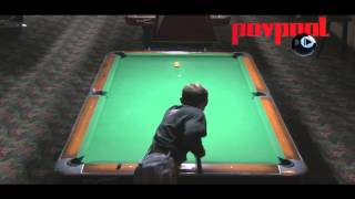Hard Times 9-Ball / Vicki Wade Vs Santos / Jan 2014