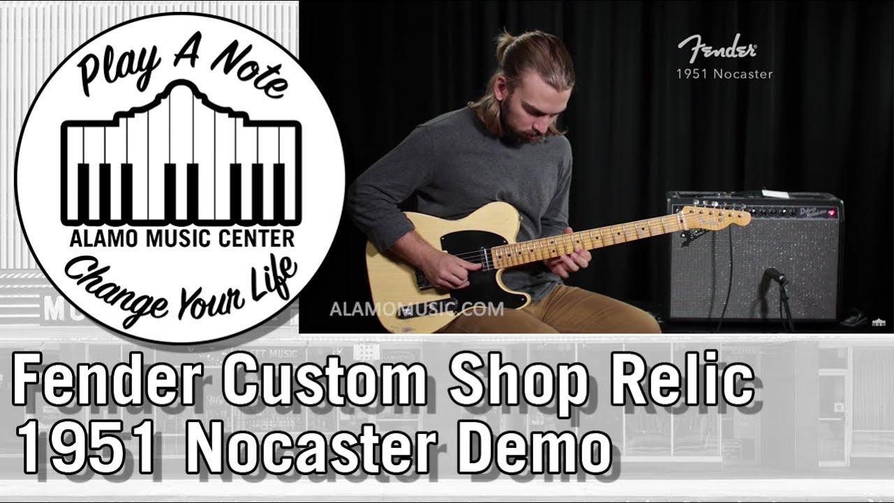 2018 Fender Custom Shop Relic 1951 Nocaster Electric Guitar Demo