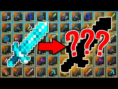 Upgrading The MOST POWERFUL WEAPON in Minecraft Dungeons