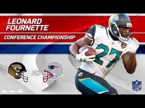 Video: Leonard Fournette's Gritty AFC Championship Performance | Jaguars vs. Patriots | Player HLs