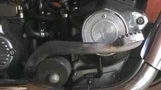 9. Motorcycle Rear Brake Pedal Adjustment