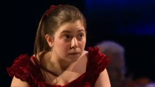 "This is Lara's astonishing winning performance at the age of 16, BBC Young Musician of the Year 2010, including the presentation and interviews after her win (and at the end, from before her performance). The video is *upscaled* to HD in order to maintain the highest possible Youtube quality - better I think than any other version currently on Youtube and with extras at the end.This Saint-Saens concerto is one of the most technically difficult in the entire classical repertoire and as the day's conductor Vasily Petrenko said ""[she] is taking a big risk!"". Well the risk paid off handsomely, the applause at the end just goes on and on. One of the best performances from a young musician that I've ever heard. Don't miss the interview and introductions following the final credits, recorded *before* her performance.Saint-Saens Piano Concerto No. 2BBC TVBBC National Orchestra of WalesConductor Vasily Petrenko.Winning soloist: Lara Melda (formerly Ömeroğlu)"