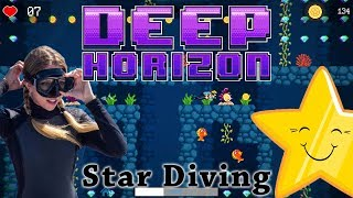Looking for gold while avoiding hungry fish & traps in underwater platformer Deep Horizon.Deep Horizon launched July 10th (2017) and is available (for Windows) on Steam - http://store.steampowered.com/app/651170/Deep_Horizon/To keep up to date with ALL the Cryptic Hybrid things check out: - TWITTER: https://twitter.com/CrypticHybrid  - MINDS: https://www.minds.com/CrypticHybrid  - FACEBOOK: https://www.facebook.com/cryptichybrid/ PS Also don't forget to SUBSCRIBE - www.youtube.com/cryptichybrid