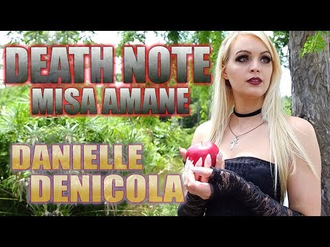 Death Note : Misa Amane - Danielle Denicola Cosplay Spotlight
