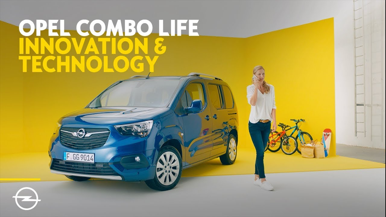 Opel Combo Life: Innovation & Technology