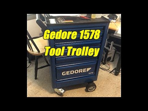 German Tool Reviews: Gedore 1578 (Tool Trolley)