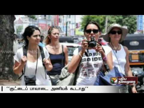 No-short-skirts-by-Tourists-remark-by-Minister-Sharma-creates-Controversy
