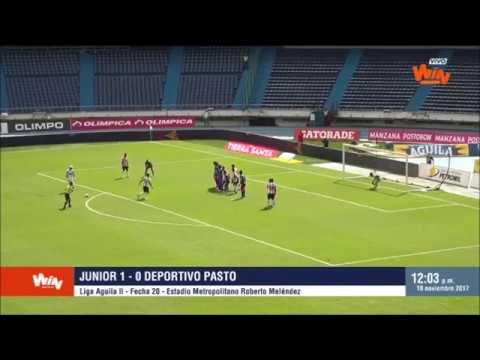 Junior 1-0 Pasto  - Fecha 20   Win Sports
