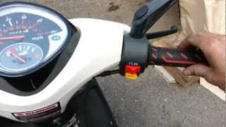 5. How to adjust the throttle on your scooter or motorcycle