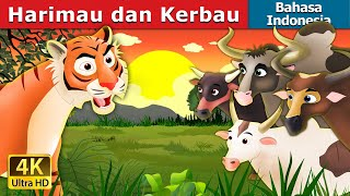 Video Harimau dan Kerbau | Tiger and Buffaloes Story in Indonesian | Dongeng anak | Indonesian Fairy Tales MP3, 3GP, MP4, WEBM, AVI, FLV Juli 2018