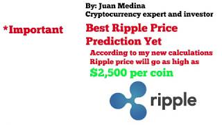 Ripple will go to $2,500 after Global Market Money goes to XRP - Buy Ripple Now