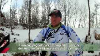 JVC TEAM SPORT - VTT - Damien Spagnolo - l'art de la descente