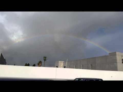 Huntington Beach Rainbow (видео)