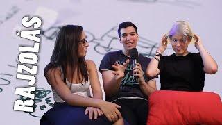 """Szecso adott otthont a Középsuli """"Rajzold le a KS szereplőit challenge"""" videójának, melyben Eszti és Paula egymással versengve..."""