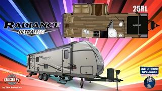 5. CRUISER RV Radiance Ultralite Travel Trailer RVs for Sale at MHSRV.com - 25RL