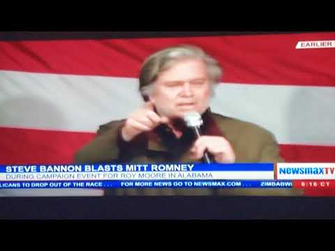 Steve Bannon puts Mitt Romney in his place