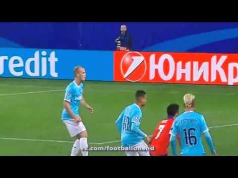 CSKA - PSV 3:2 All Goals Match Review 30-09-2015