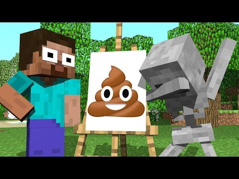 ✅ Monster School : BEST DRAWING Challenge - Minecraft Animation