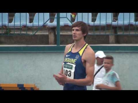 Дмитро Дем'янюк став другим у стрибках у висоту з кращим результатом сезону 2.26м.