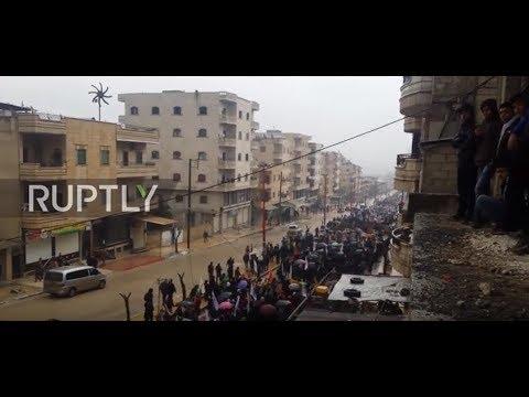 Video - Εισέβαλαν στην Αφρίν της Συρίας οι τουρκικές δυνάμεις