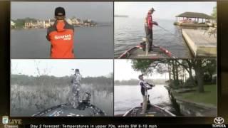 Live fishing, Bassmaster Classic Sunday 2017 - pt. 2