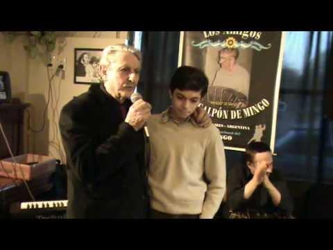 Presentando a Dante Bergero en lo de Mingo y Bar Miranda